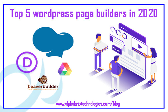 Top 5 WordPress Page Builders that You Should Use in 2020